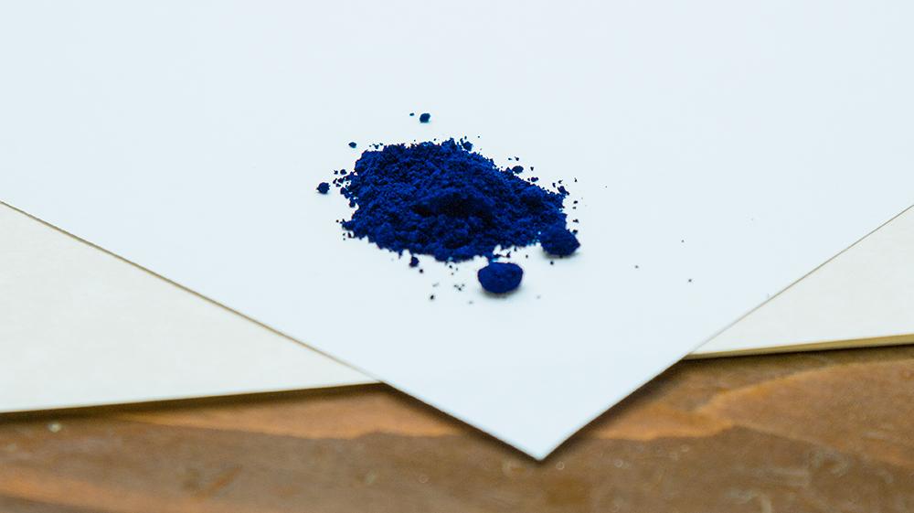 polveri; ossido; blu; prussia; blu di prussia;